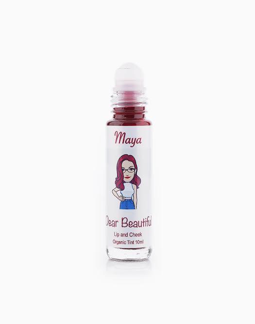 All Natural Lip and Cheek Tint by Dear Beautiful | Maya (Raspberry Rhum)