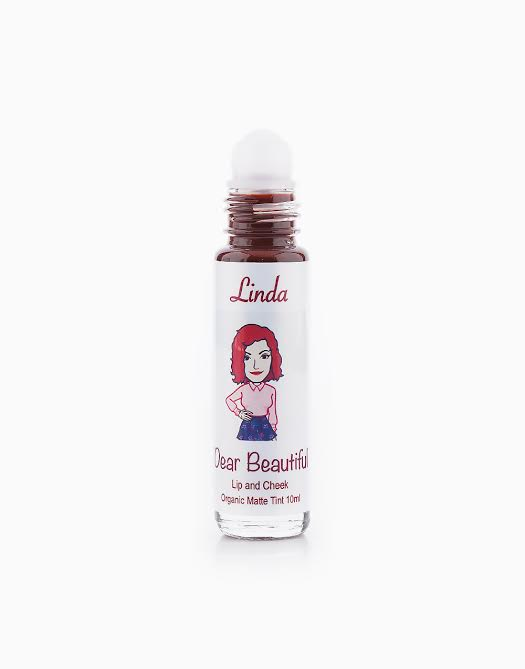 All Natural Lip and Cheek Tint by Dear Beautiful | Linda (Cherry Wine in Matte)