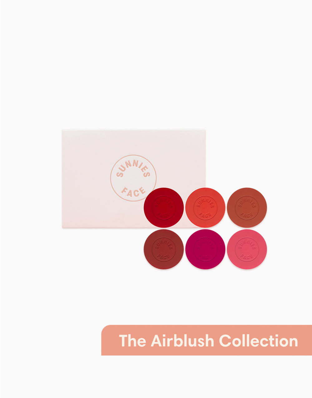 Sunnies Face The Airblush Collection [Cream Blush & Cheek Tint Set] by Sunnies Face