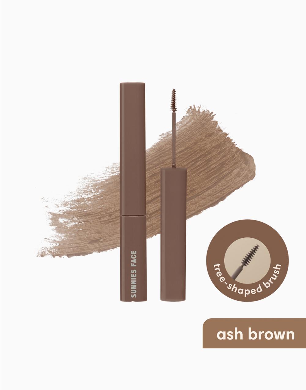 Sunnies Face Lifebrow Grooming Gel [Grooming Eyebrow Gel] (Ash Brown) by Sunnies Face