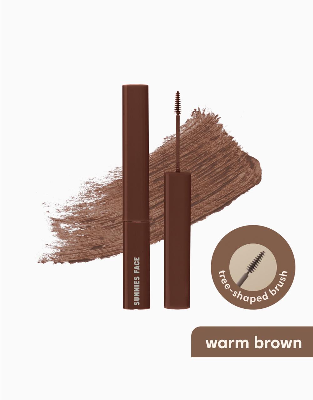 Sunnies Face Lifebrow Grooming Gel [Grooming Eyebrow Gel] (Warm Brown) by Sunnies Face
