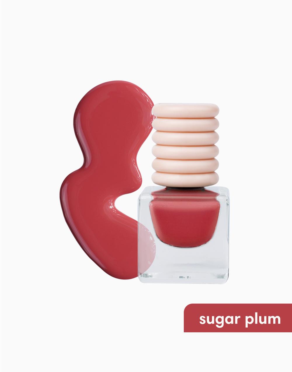 Sunnies Face Play Paint [Vegan Quick-Dry Nail Polish] (Sugar Plum) by Sunnies Face