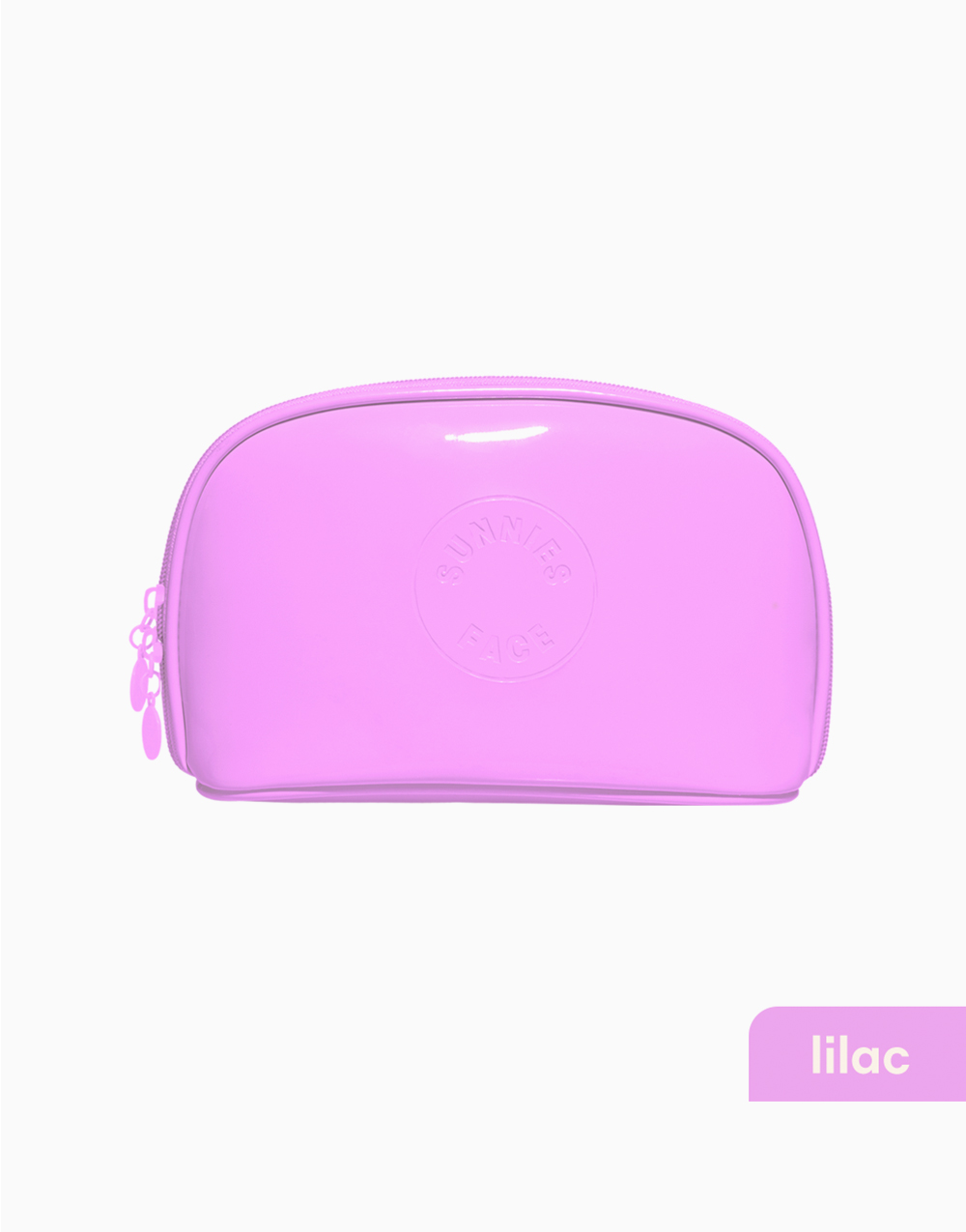 Sunnies Face Patent Pouch [Makeup Pouch] (Lilac) by Sunnies Face