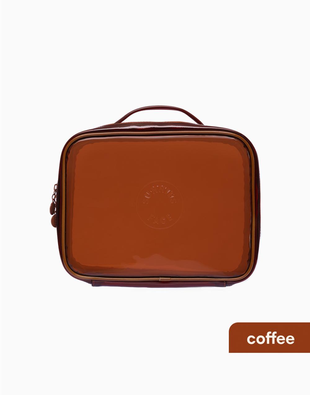 Sunnies Face Weekend Jelly Bag [Makeup Bag] (Coffee) by Sunnies Face