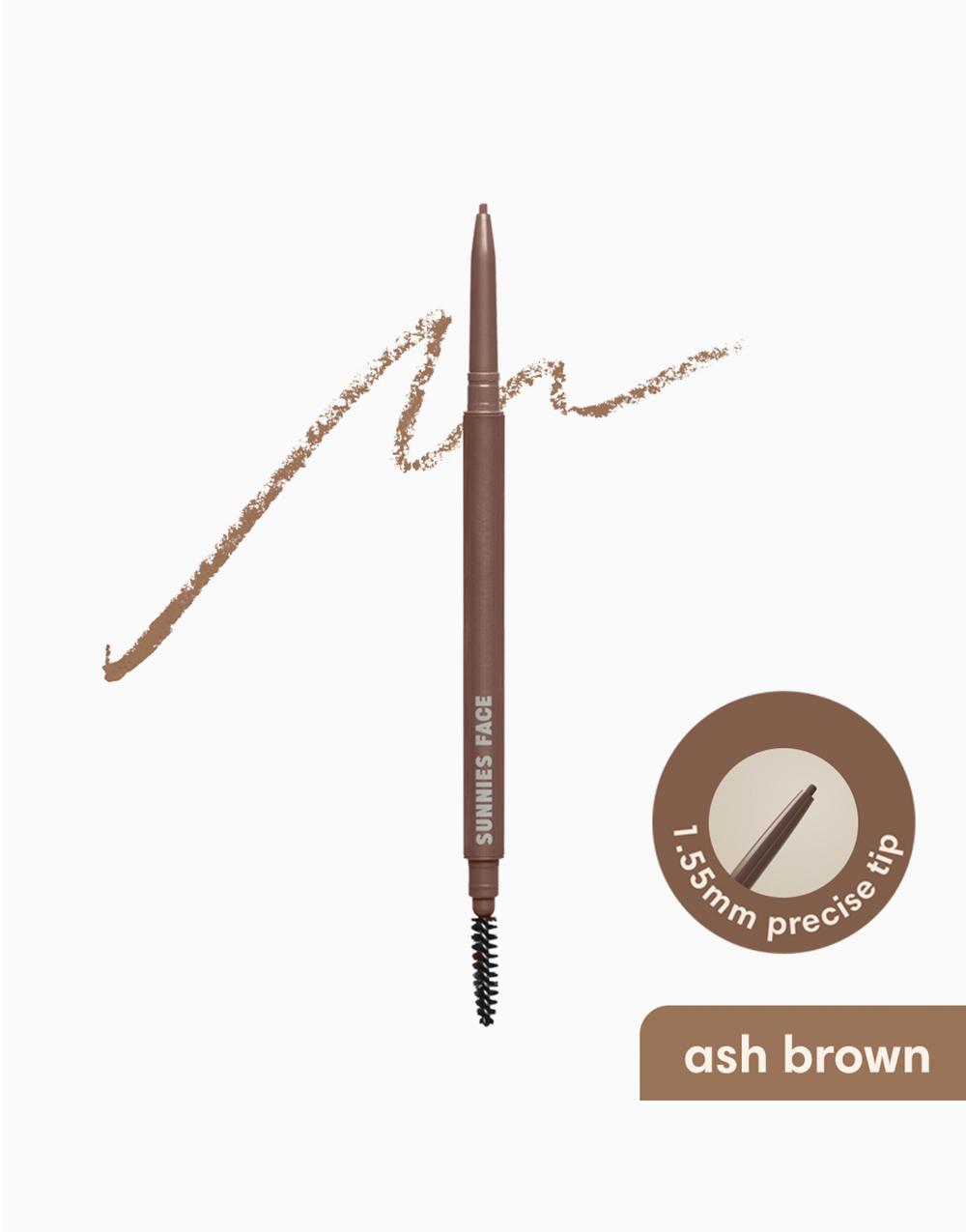 Sunnies Face Lifebrow Skinny Pencil [Defining Eyebrow Pencil] (Ash Brown) by Sunnies Face