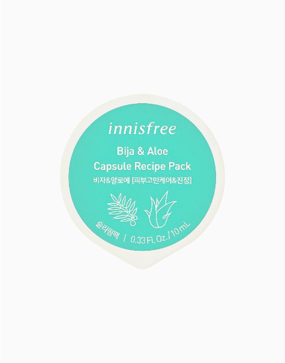Bija & Aloe Capsule Recipe Pack by Innisfree