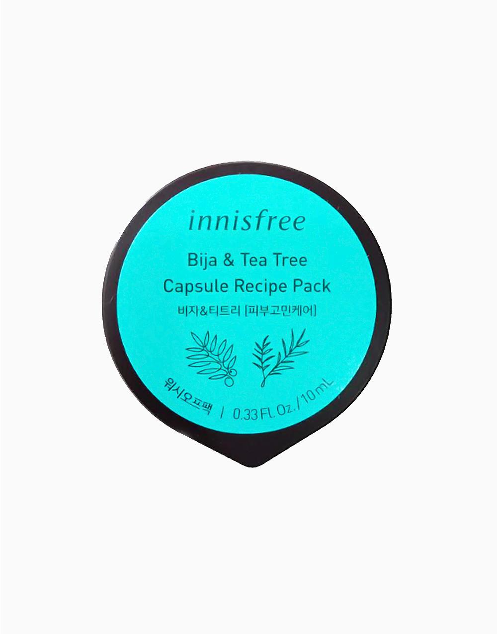 Bija & Tea Tree Capsule Recipe Pack by Innisfree
