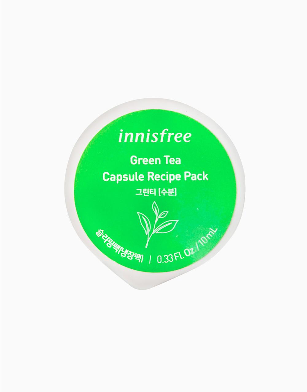 Green Tea Capsule Recipe Pack by Innisfree