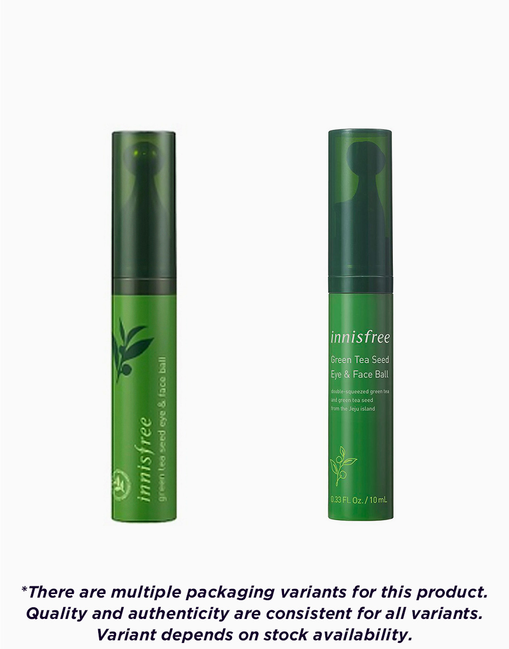 Green Tea Seed Eye and Face Ball by Innisfree