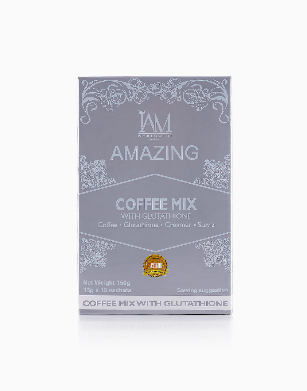 Coffee Mix with Glutathione (10 Sachets) by iAMWorldwide