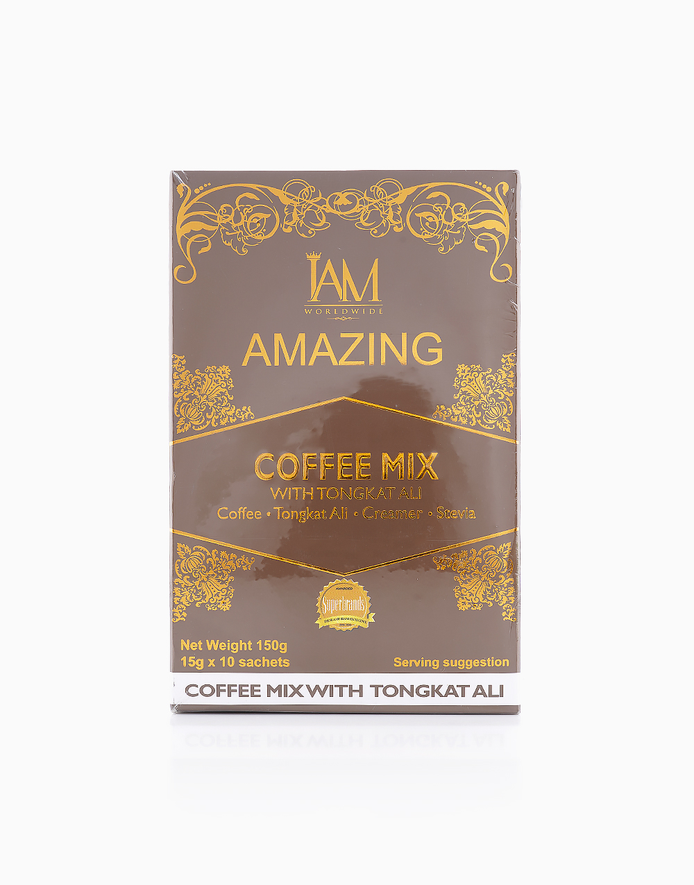 Coffee Mix with Tongkat-Ali (10 Sachets) by iAMWorldwide