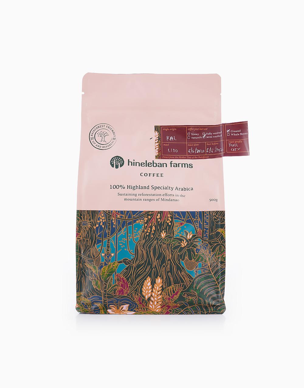 Ground Coffee (500g) by Hineleban Farms