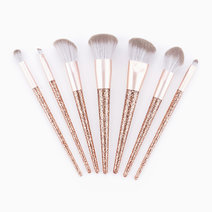 7-pc Bronze Glitter Makeup Brush Set by PRO STUDIO Beauty Exclusives