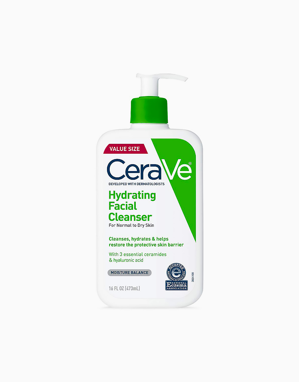 Hydrating Cleanser (473ml) by CeraVe