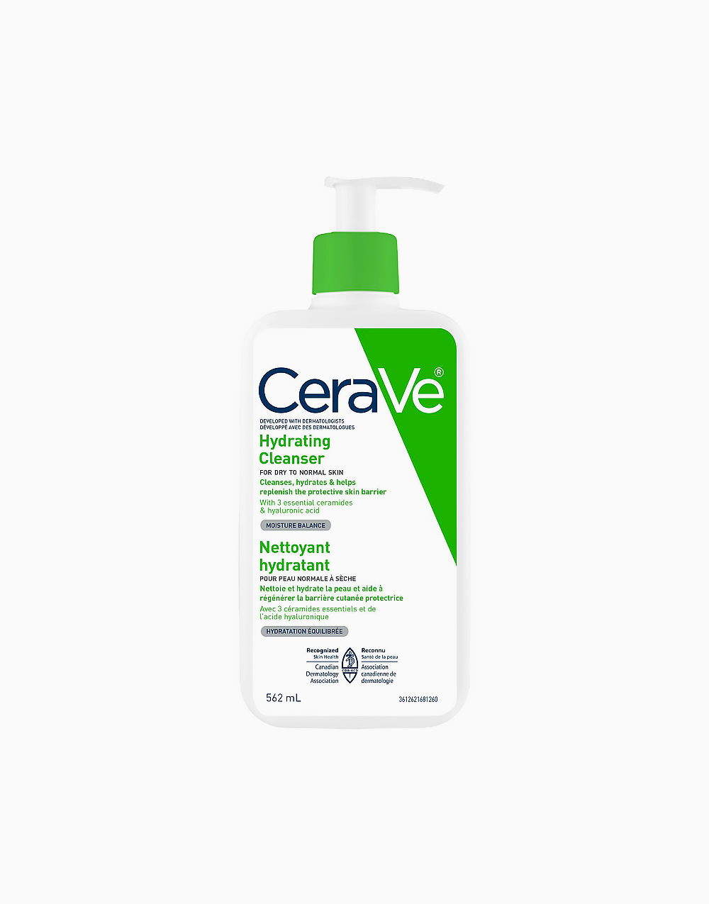 Cerave hydrating facial cleanser 562ml ca