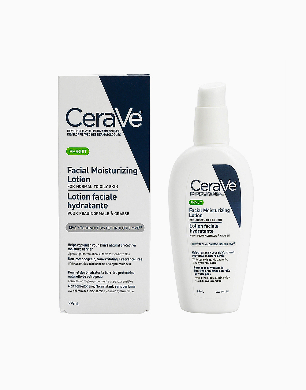 Cerave pm facial moisturizing lotion 89ml ca