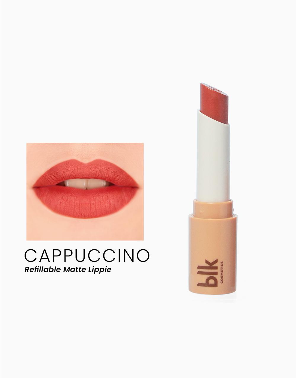 Lip Switch Matte Lippie by BLK Cosmetics   Cappuccino