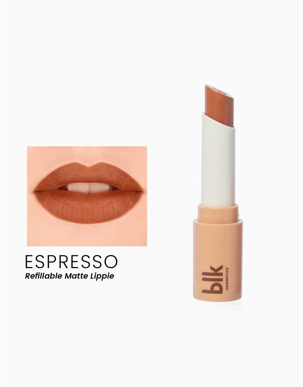 Lip Switch Matte Lippie by BLK Cosmetics   Espresso