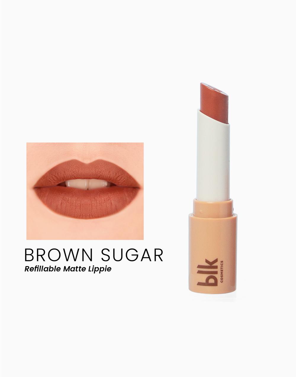 Lip Switch Matte Lippie by BLK Cosmetics   Brown Sugar