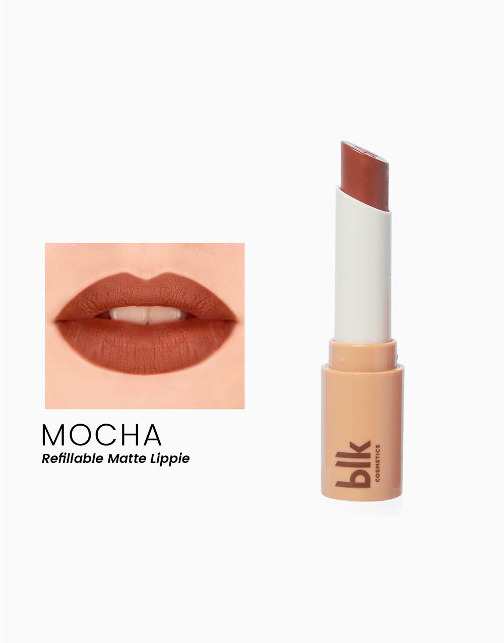 Lip Switch Matte Lippie by BLK Cosmetics   Mocha
