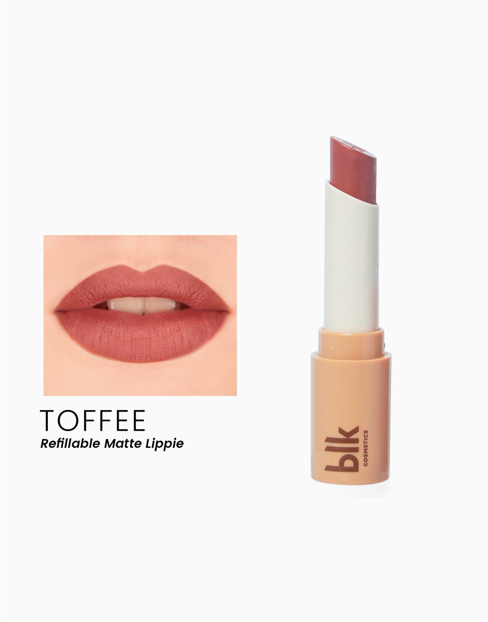 Lip Switch Matte Lippie by BLK Cosmetics   Toffee
