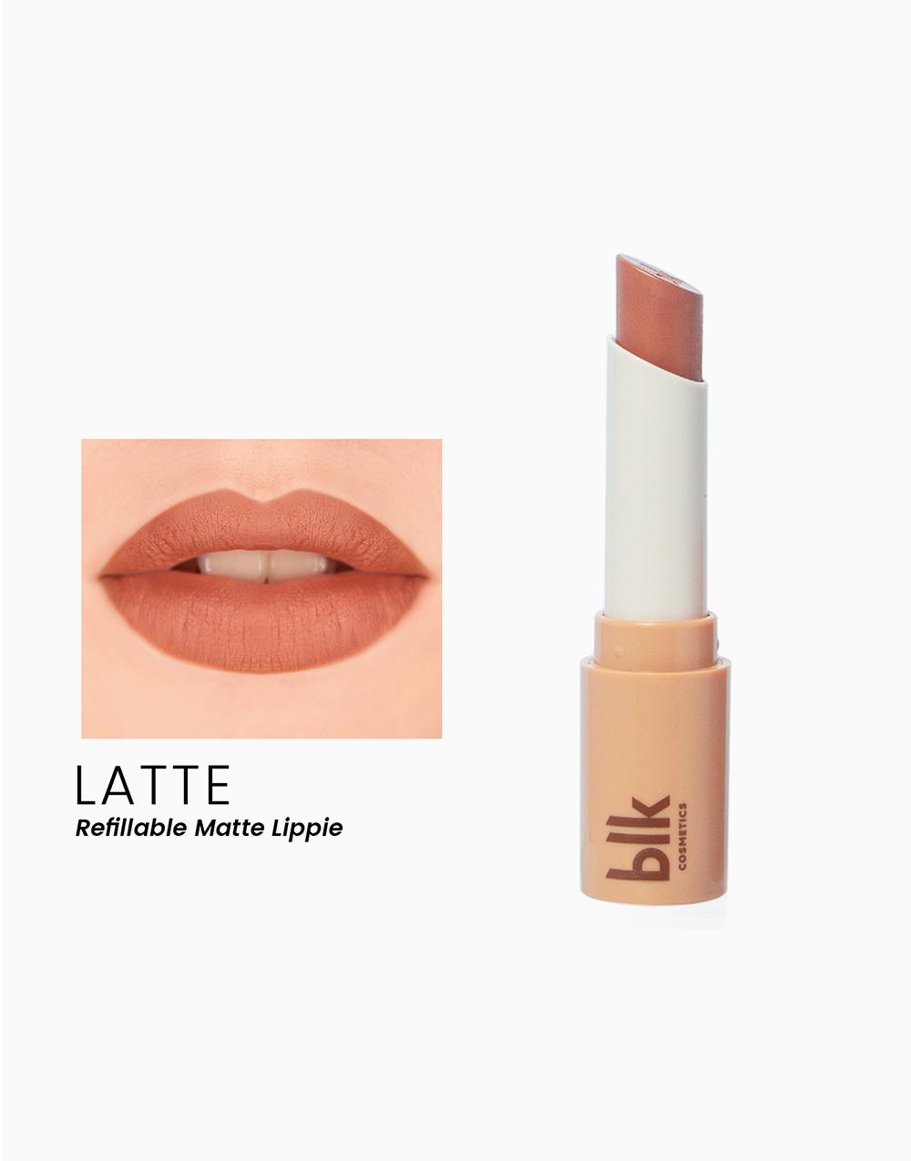 Lip Switch Matte Lippie by BLK Cosmetics   Latte