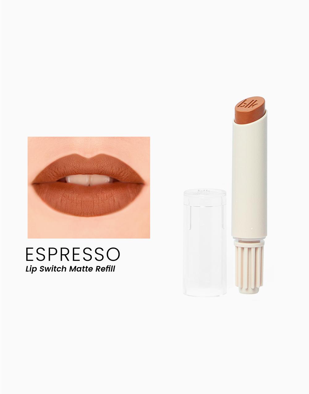 Lip Switch Refill Matte Lippie by BLK Cosmetics | Espresso