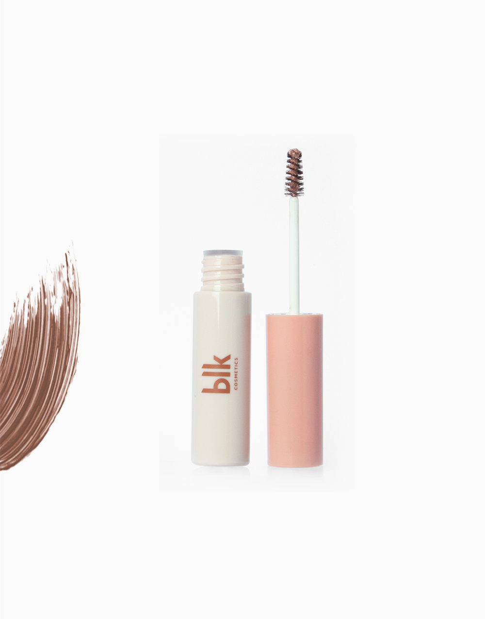 Brow Mascara by BLK Cosmetics   Natural Brown