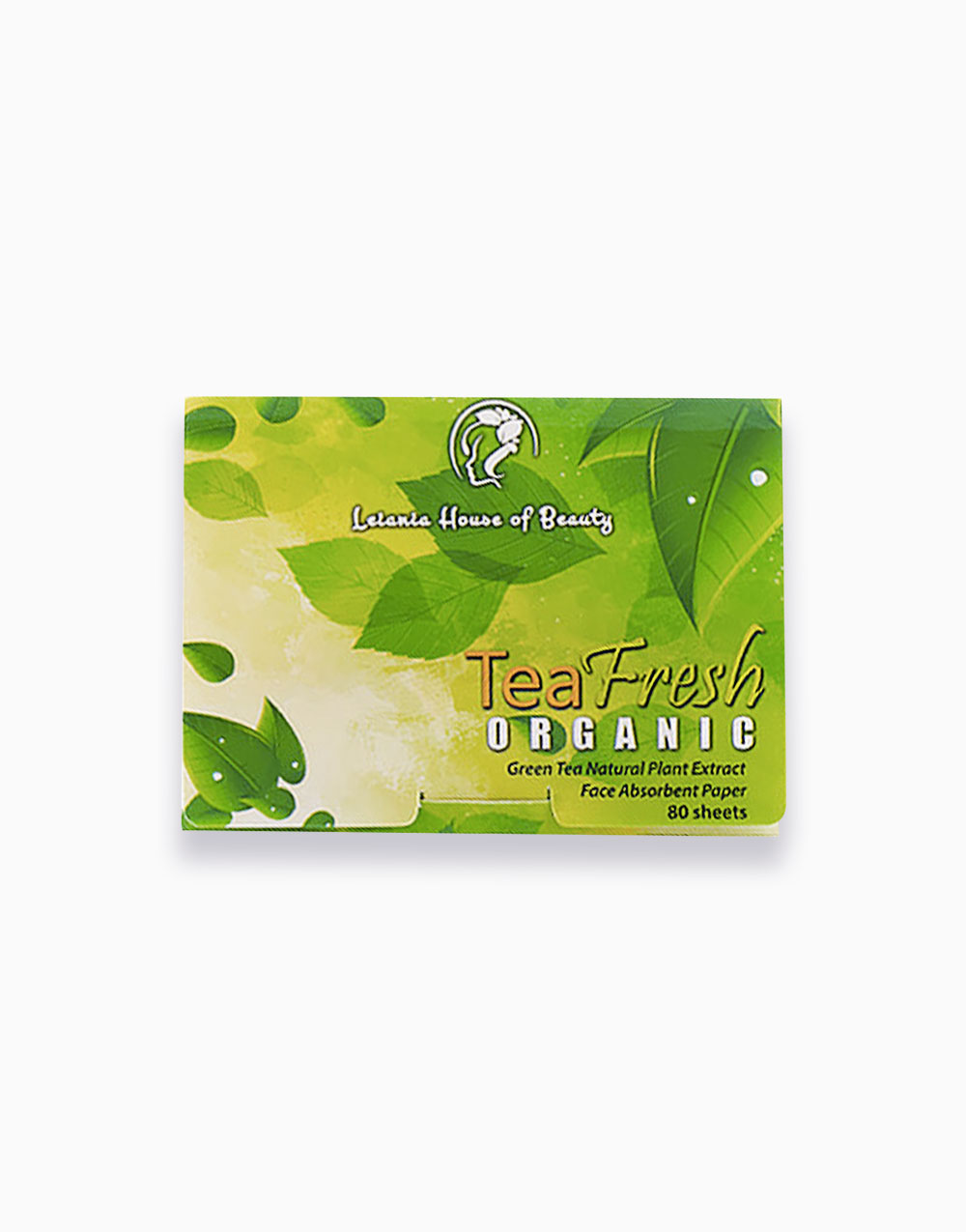 TeaFresh Organic Face Oil Blotting Paper by Leiania House of Beauty