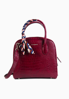 Ally Satchel Wine by Hush Puppies