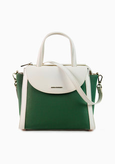 Valy Top Handle Green by Hush Puppies