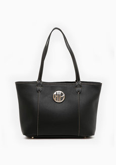 Goland Tote (Black) by Hush Puppies