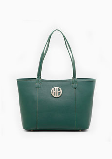 Goland Tote (Green) by Hush Puppies