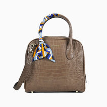 Ally Satchel Taupe by Hush Puppies