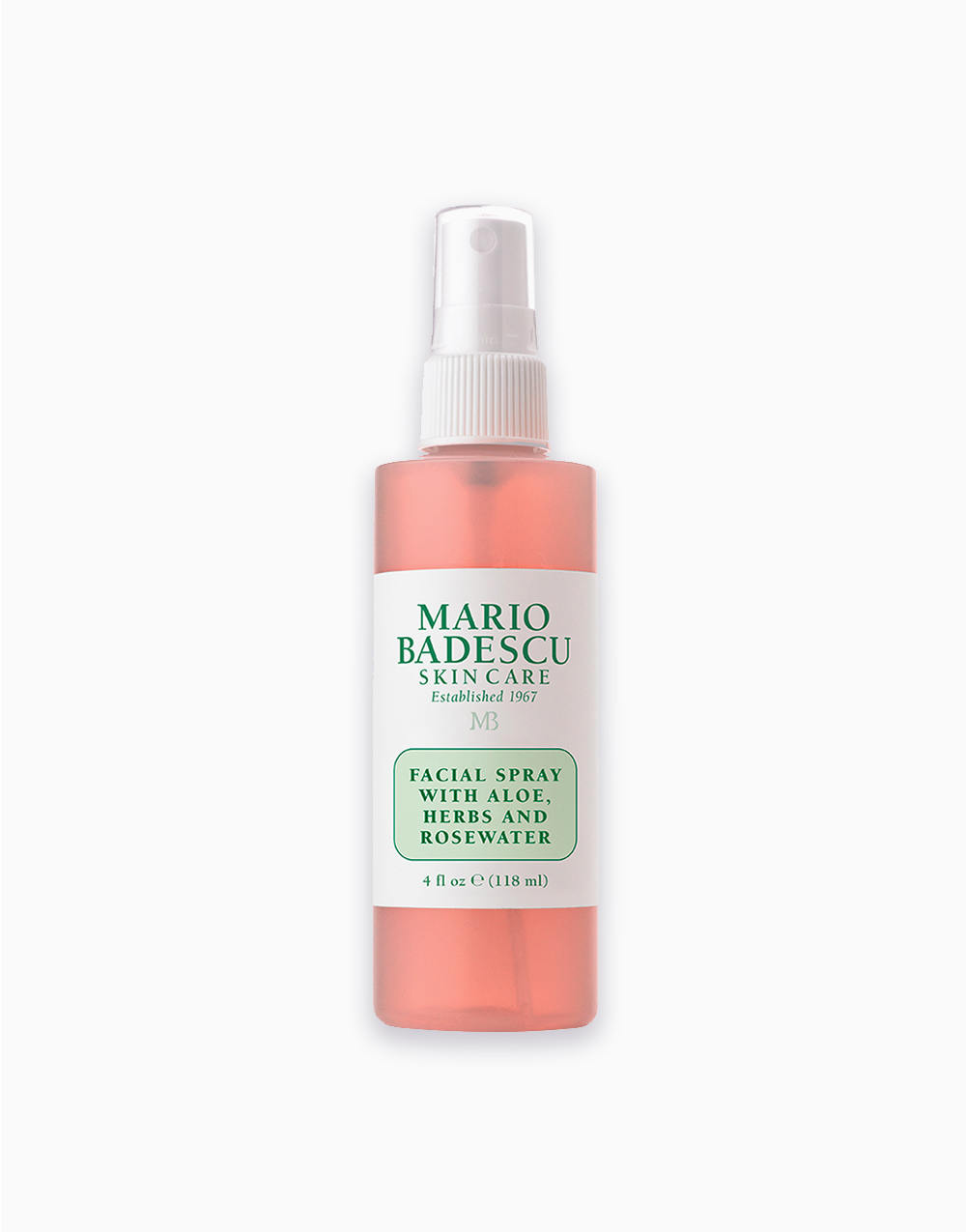 Facial Spray With Aloe, Herbs, and Rosewater (4oz) by Mario Badescu
