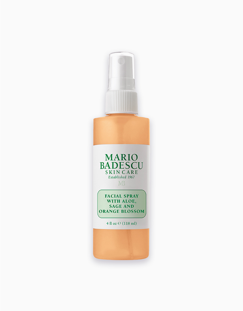 Facial Spray with Aloe, Sage and Orange Blossom (4oz) by Mario Badescu