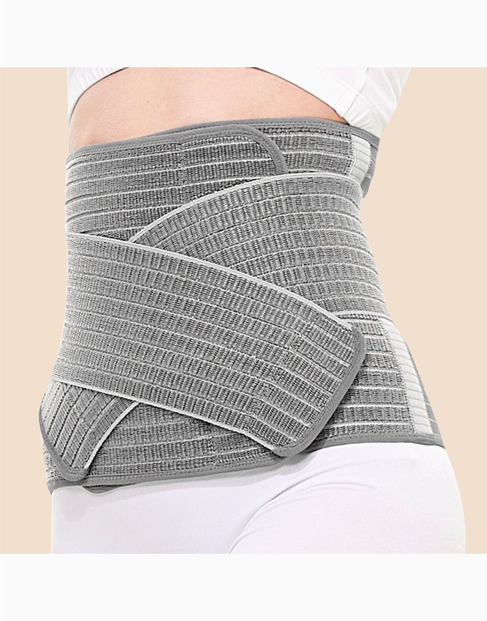 Nano Bamboo Postnatal Recovery & Support Belly Band (Charcoal Grey) by Mamaway | S-M