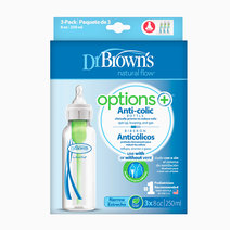Dr brown f bottle 8z 250ml pp narrow neck option  3pcs pk box