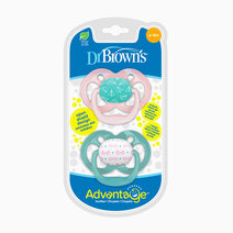 Dr brown pacifier advantage stage 2  pink airplanes  2 pack