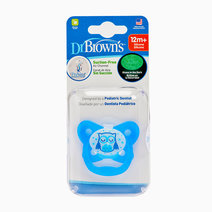Prevent Glow In The Dark Butterfly Shield Stage 3 Blue Sleepy Owl Pacifier (12M+) by Dr. Brown's