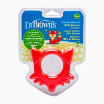 Dr brown teether fleexees friends fox red 2