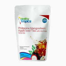 Mangosteen apple iced tea front