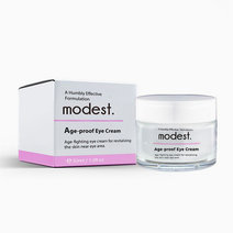 Modest. age proof eye cream