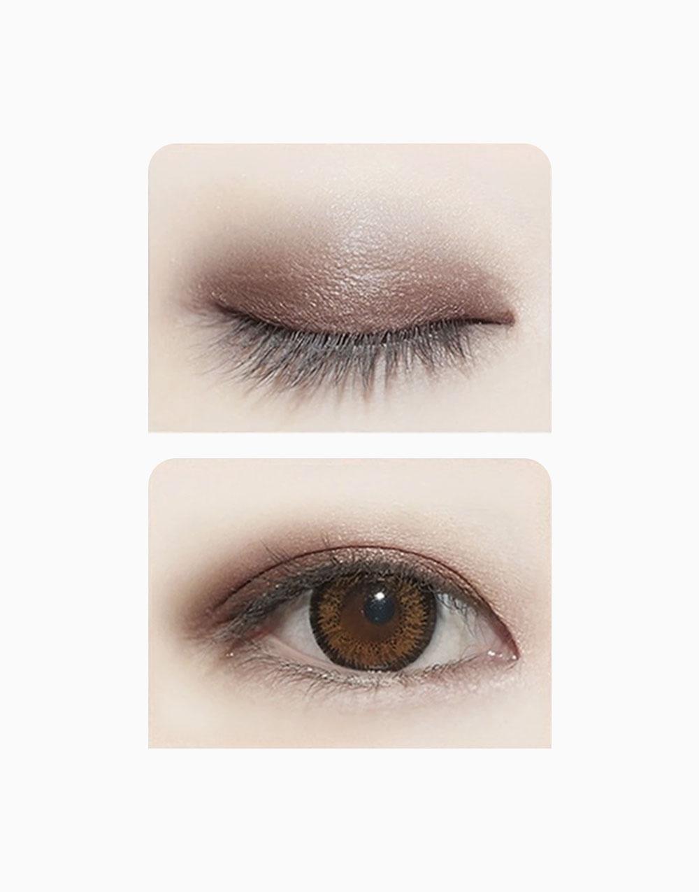 Two Tone Eyeshadow Stick by Novo Cosmetics | #3 Peach / Dark Brown
