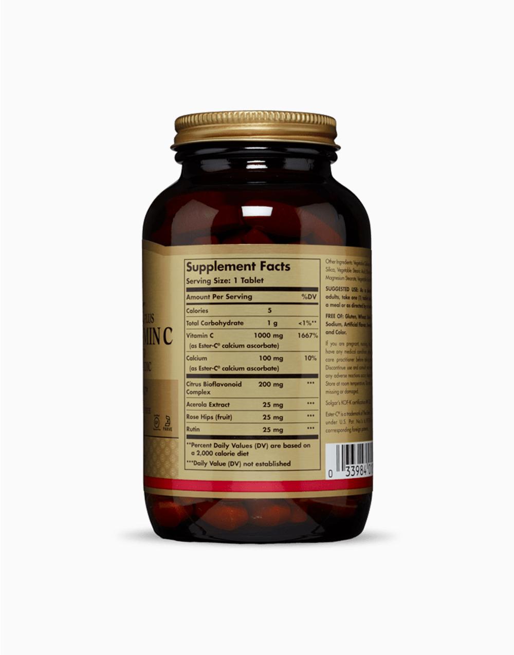 Ester-C Plus Vitamin C (1000 mg, 180 Tablets) by Solgar
