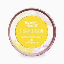 Floral Fusion Soy Candle (2oz) by Happy Island