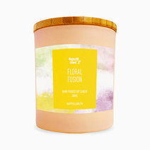 Floral Fusion Soy Candle (10oz) by Happy Island