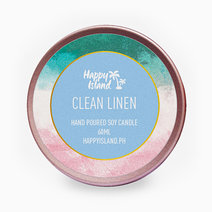 Happy island clean linen tin