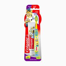 Minions 5-9 Toothrbrush + Toothpaste 40g Pack by Colgate