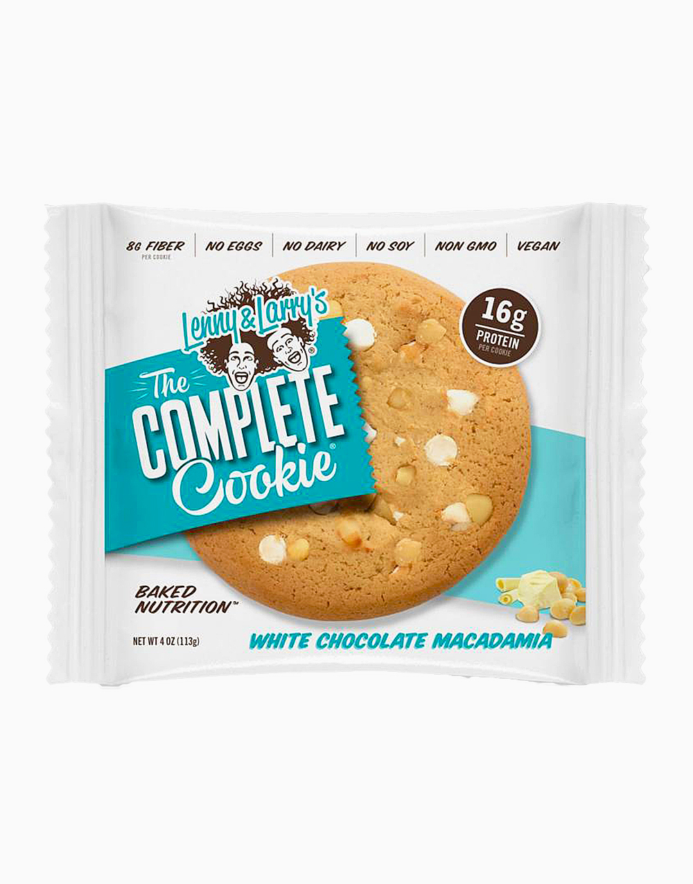The Complete Cookie (White Chocolate Macadamia) by Lenny & Larry's